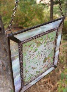 Thistle Glass Decorative Soldering