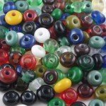 Many, many spacer beads