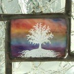 Stained Glass Mini Window