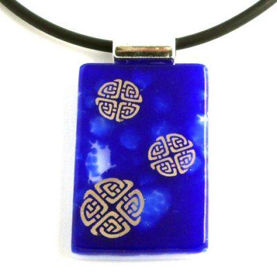 Cobalt Celtic Knots