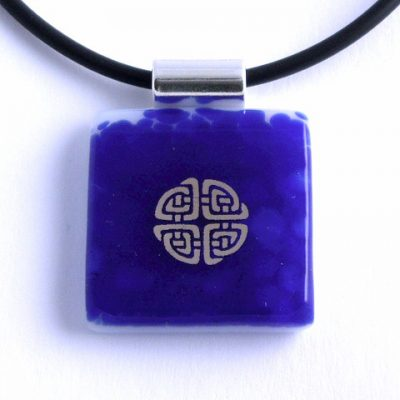 Cobalt Celtic Knot I