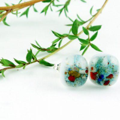 Organic Post Earrings