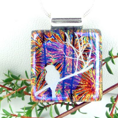 Dichroic White Bird I