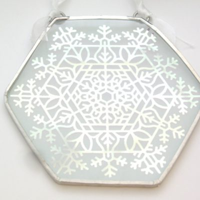 Large Snowflake Ornament 2014