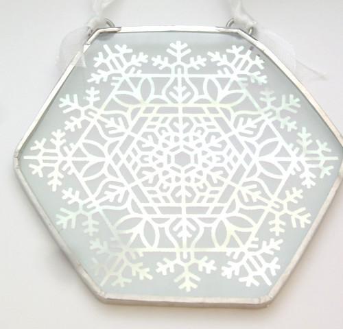 Large Snowflake Ornament 2014