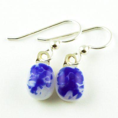 Cobalt Earrings II