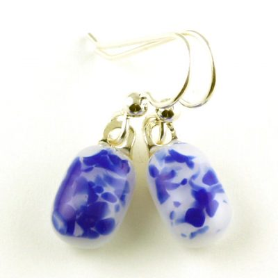 Cobalt Earrings I
