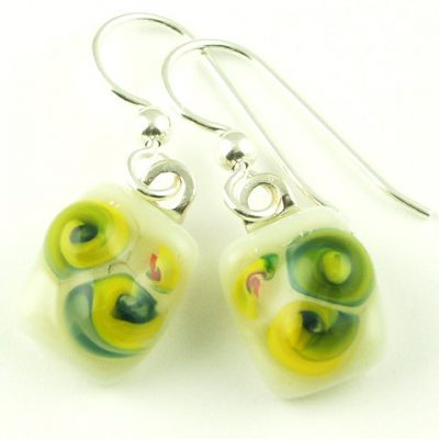 Bloom Yellow Earrings