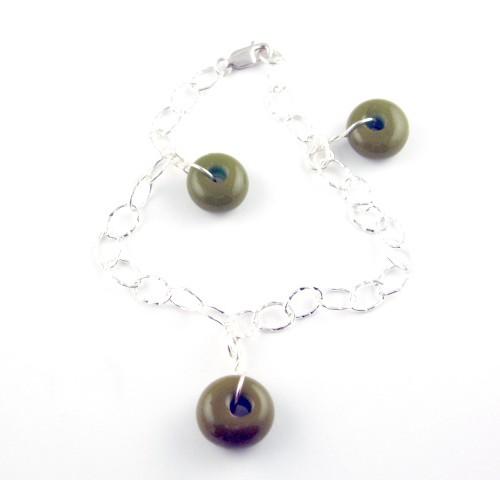 Charm Bracelet, Olive
