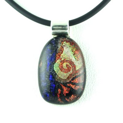 Scribe, Dichroic Spiral Oval I