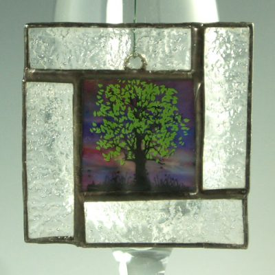 Green Tree Mini Window