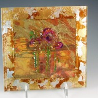 Purple Floral I Wall Art