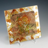 Copper Floral II Wall Art