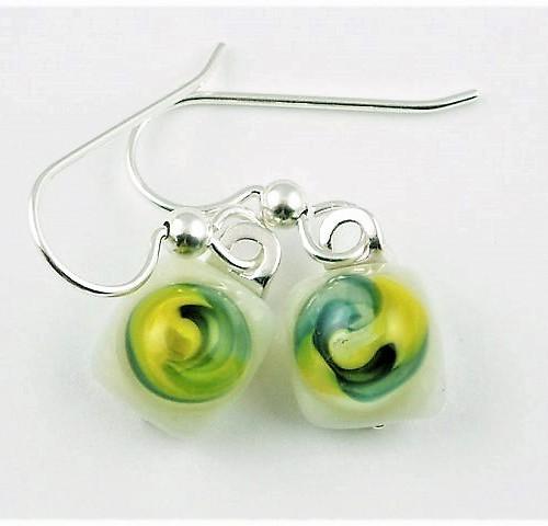 Bloom Yellow Earrings I