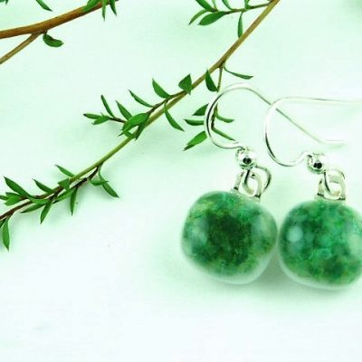 Green Crush Earrings I