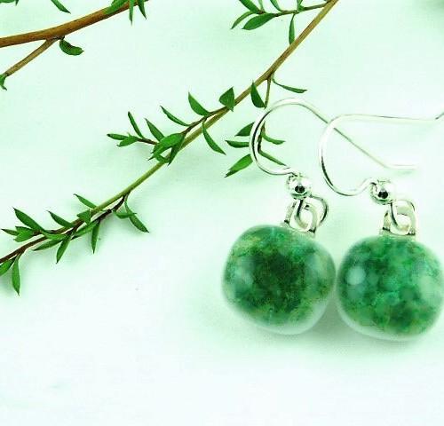 Green Crush Earrings I