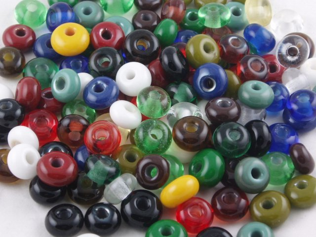 Lampwork Glass Beads by Michelle Copeland at ThistleGlass.com