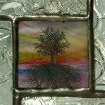 Stained Glass Mini Window