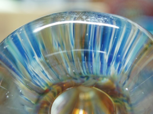 Blown Glass Vase by Michelle Copeland at ThistleGlass.com