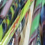 Blown Glass Cane Twist Pulls