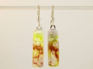 Fused Glass Jewelry by Artist Michelle Copeland at www.ThistleGlass.com