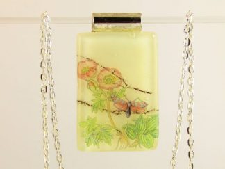 Fused Glass Jewelry Designed by Artist Michelle Copeland at ThistleGlass.com