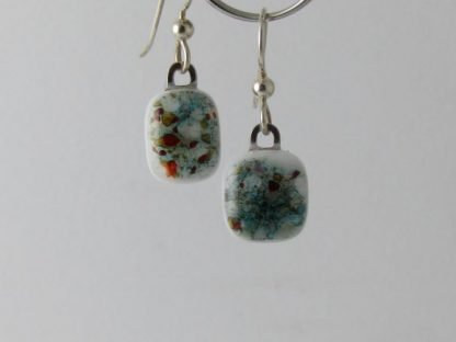 Mixed Crush Earrings, Glass styles designed by Michelle Copeland at ThistleGlass.com
