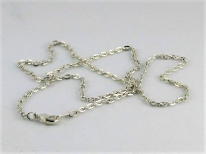 Silver Necklace Chain at ThistleGlass.com