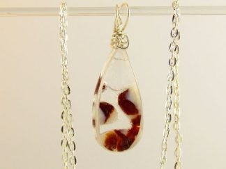 Reversible Fused Glass Jewelry by Artist Michelle Copeland at www.ThistleGlass.com