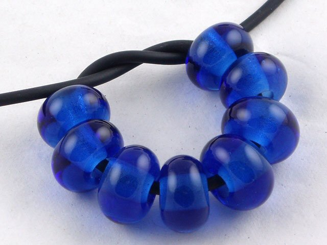 Lampwork Glass Beads - Created by Artist Michelle Copeland at ThistleGlass.com