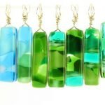 Reversible Glass Jewelry by Michelle Copeland at www.ThistleGlass.com
