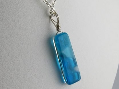Reversible Series, Fused Glass Necklaces designed by Michelle Copeland at ThistleGlass.com