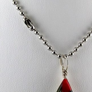 "Steel Ball Necklace Chain, 24"", Chains and Cords offered by ThistleGlass.com"
