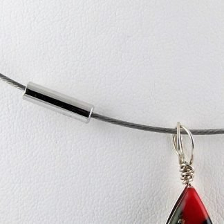 """Steel Cable Choker, 18"""", Chains and Cords offered by ThistleGlass.com"""