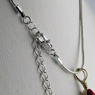Adjustable Silver Plated Chain - 2 Sizes, Chains and Cords offered by ThistleGlass.com