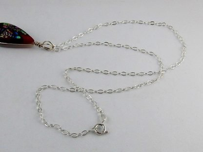 "Sterling Silver Hammered Oval Cable Chain Necklace, 18"", Chains and Cords offered by ThistleGlass.com"
