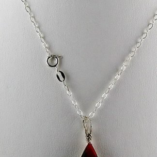 """Sterling Silver Hammered Oval Cable Chain Necklace, 18"""", Chains and Cords offered by ThistleGlass.com"""