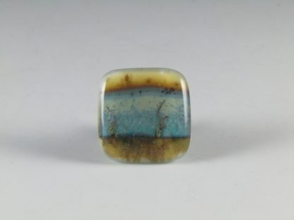 Landscape Fused Glass Knobs, by Michelle Copeland at ThistleGlass.com